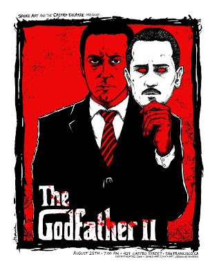 The Godfather 2 Screen Print by Jermaine Rogers