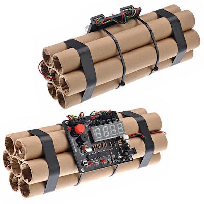 İlginç Tasarımlar - Bomba Görünümlü Saat