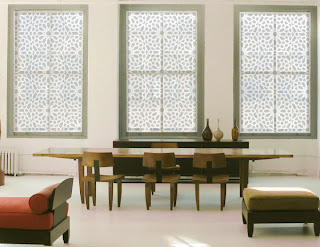 Indian Pattern Window Covering