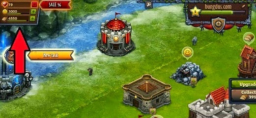 Throne rush gems gratis