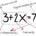 ¿Qué son y cómo resolver las ecuaciones de primer grado?