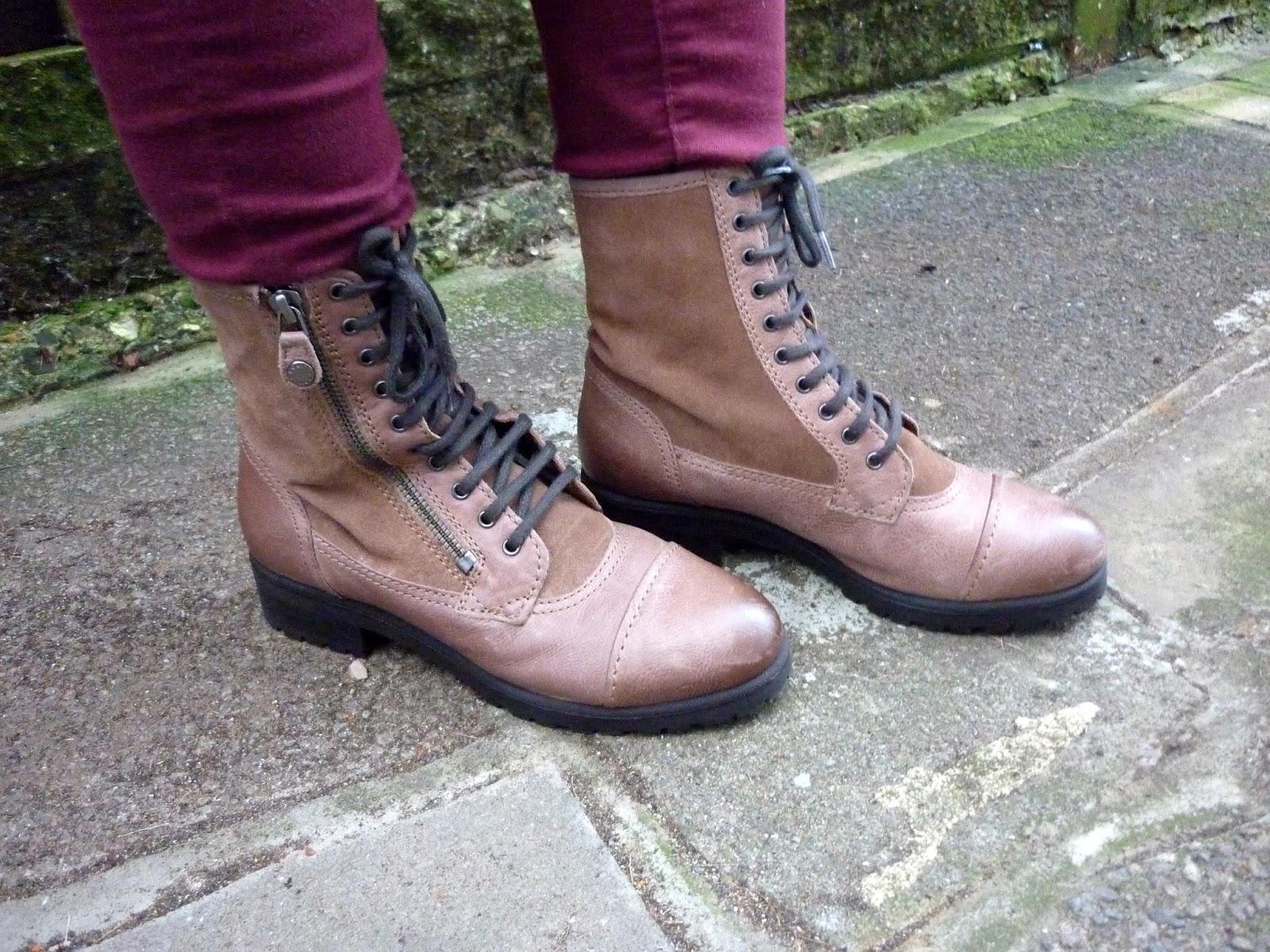 Geox Lace & Zip Boots | Petite Silver Vixen