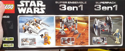 Build and be creative with Lego Star Wars Collector 3 in 1 Pack