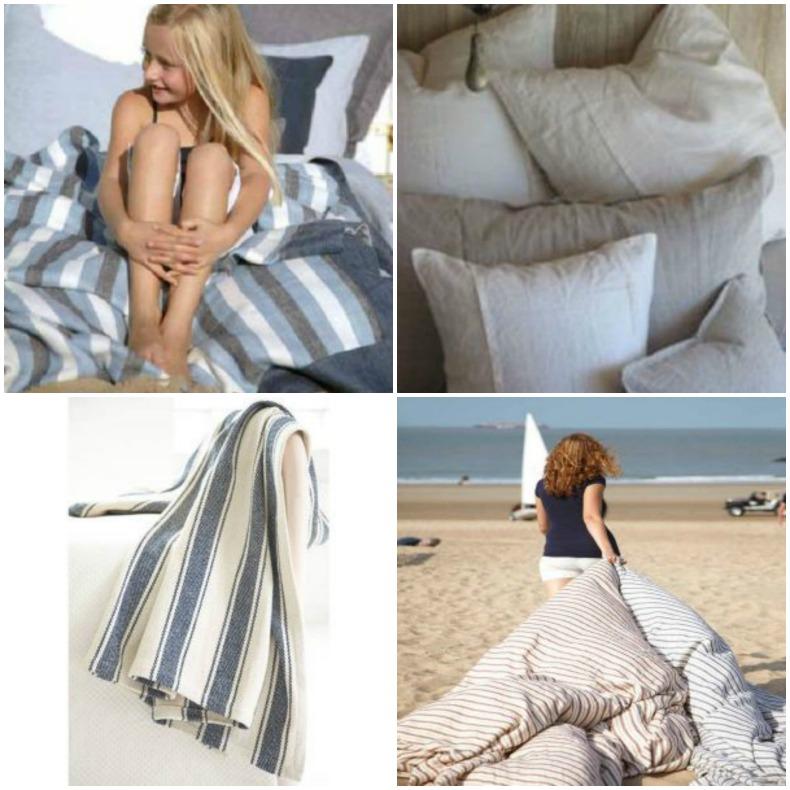 Coastal blankets