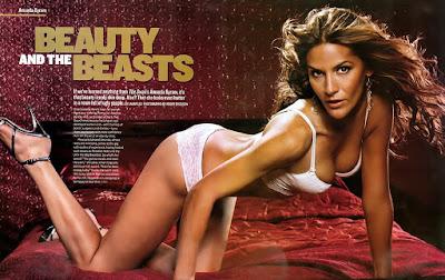 Television Celebrity Amanda Byram Wallpaper