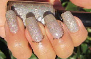 Lilypad Lacquer Diamond in the Rough Champagne Glitter Nail Polish
