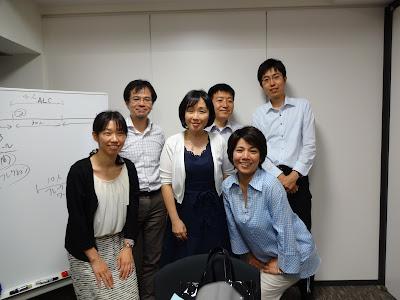 アクションラーニング基礎講座の参加メンバーとの写真
