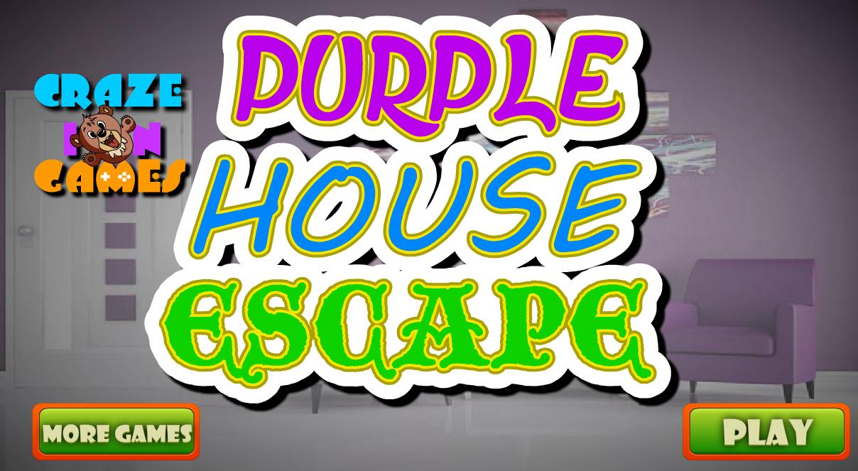 Cig Purple House Escape Walkthrough