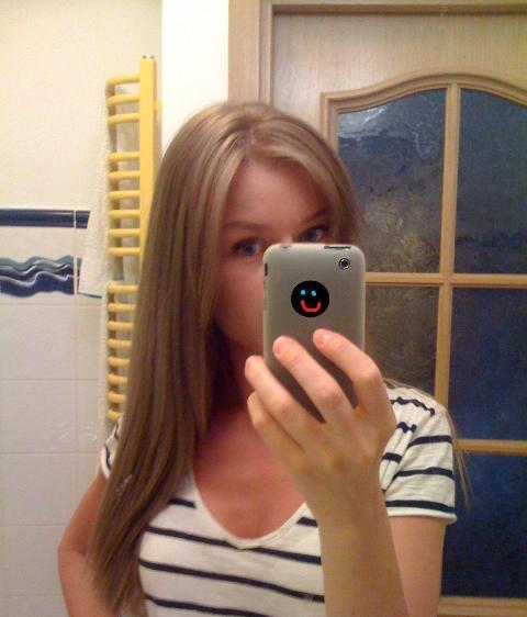 Blog blond bunny: Kitka przyciemnianie sierpień 2012 L'Oreal 7 + 8.13