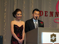 The bridal couple Mr Dennis Lim and Ms Lim Li Hong