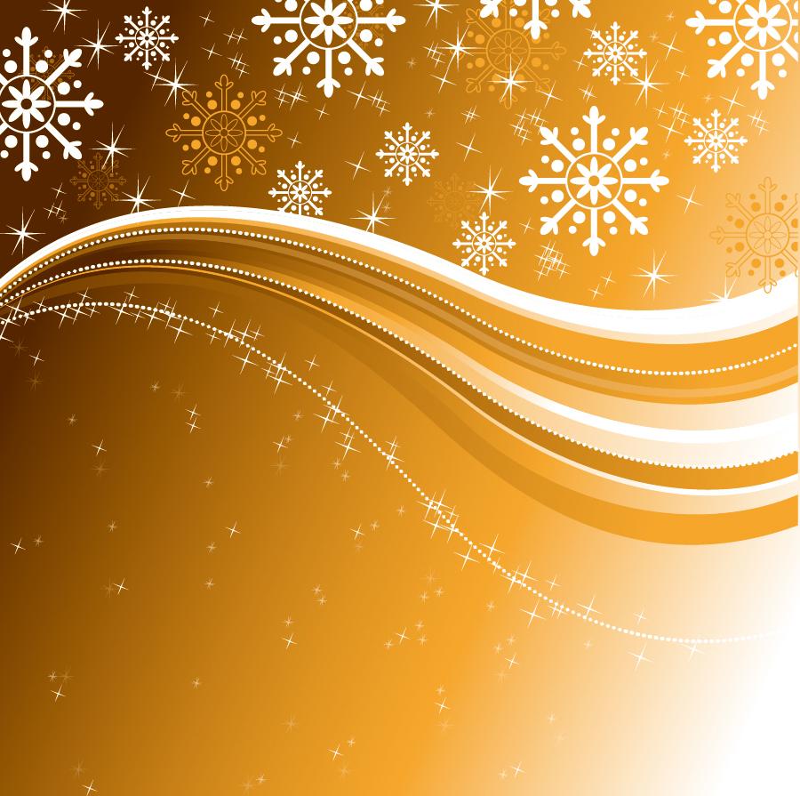 星と雪で美しく描くクリスマス ...
