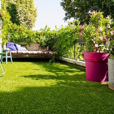 comment donner un coup de frais votre terrasse ou balcon le blog d co top. Black Bedroom Furniture Sets. Home Design Ideas
