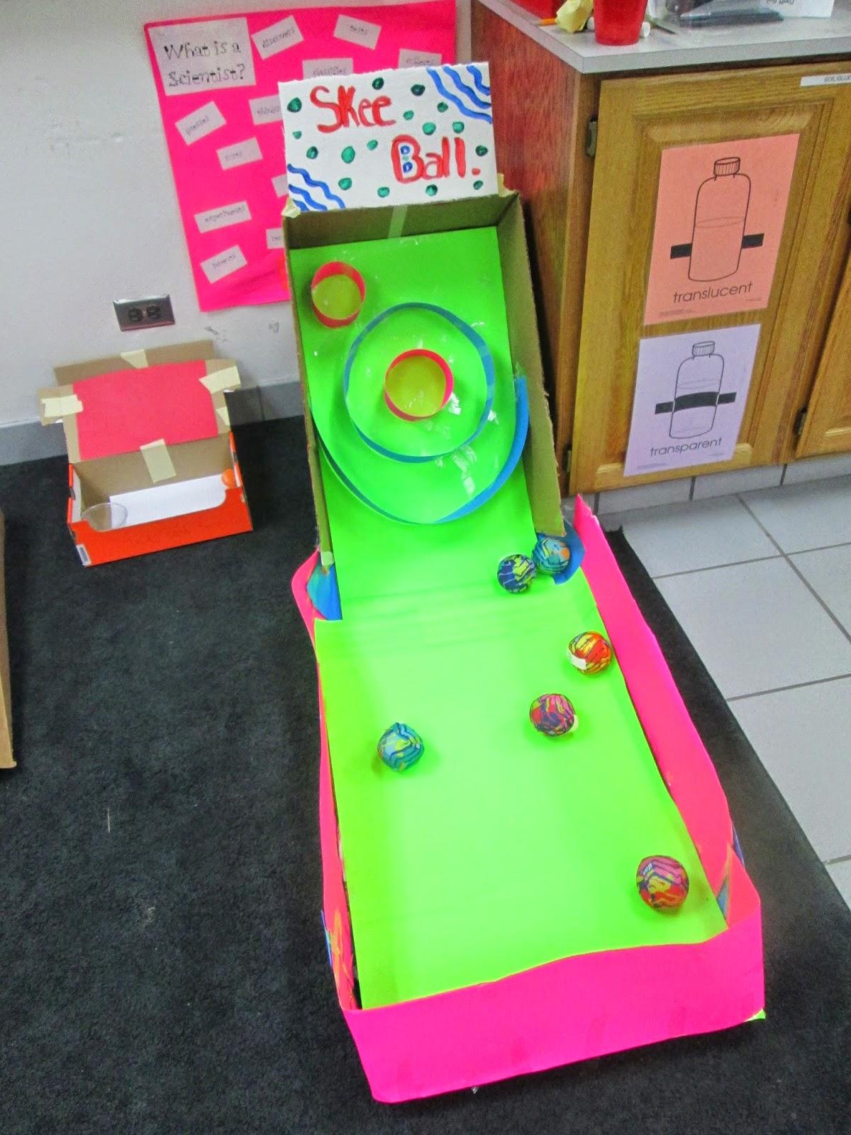 Cardboard Arcade Fun And Games The Science School Yard