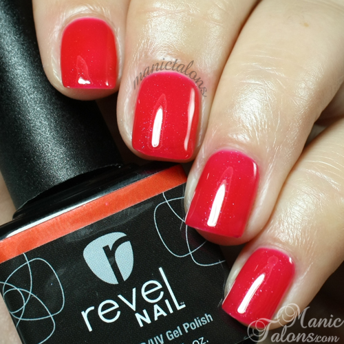 Revel Nail Gel Polish Moscow Swatch