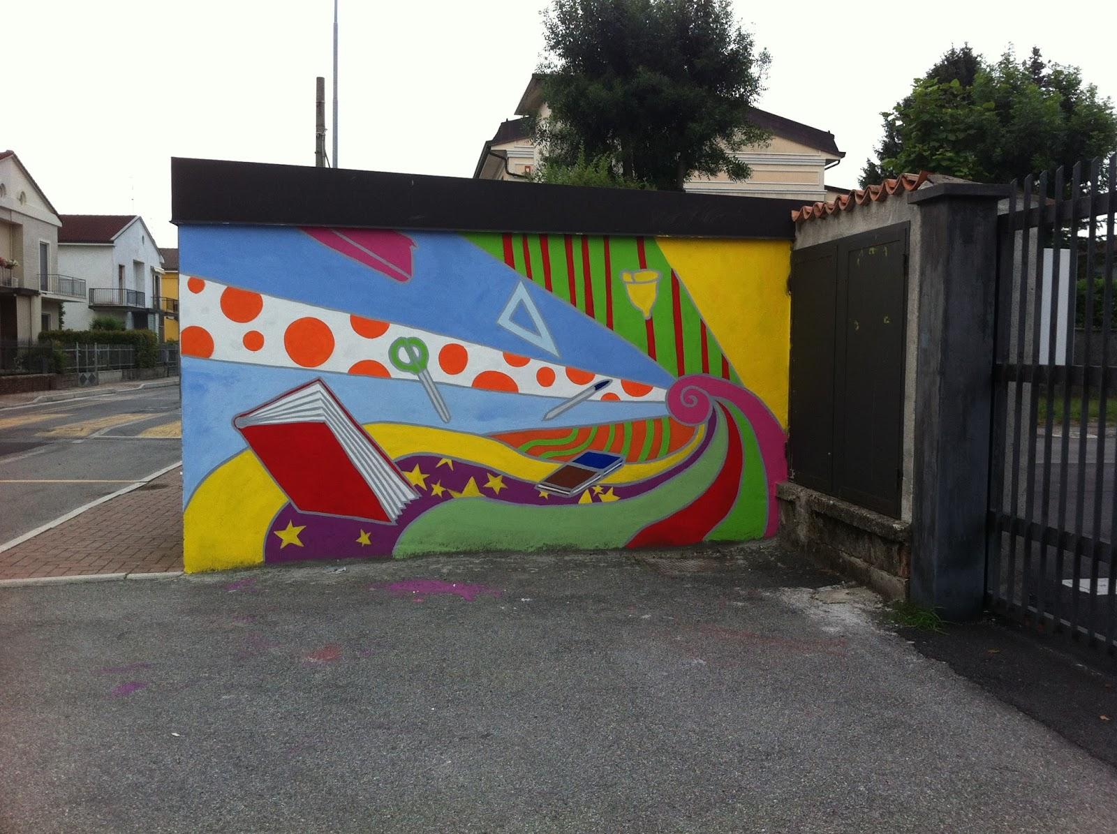 Popolare Murales - Scuola Media di Borgo San Giacomo | Wunderkammer HX63