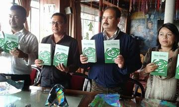 Ghanashyam Nepal's book 'Vidha Vibhidha' launch in Kalimpong.