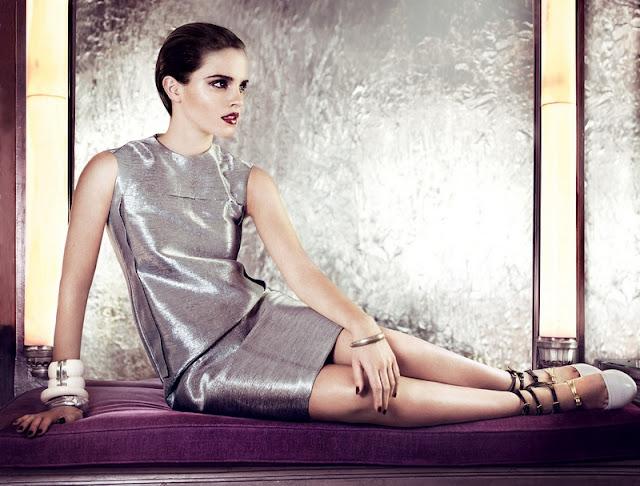 emma watson vogue us 2011. VOGUE US July 2011 - Emma Watson by Mario Testino