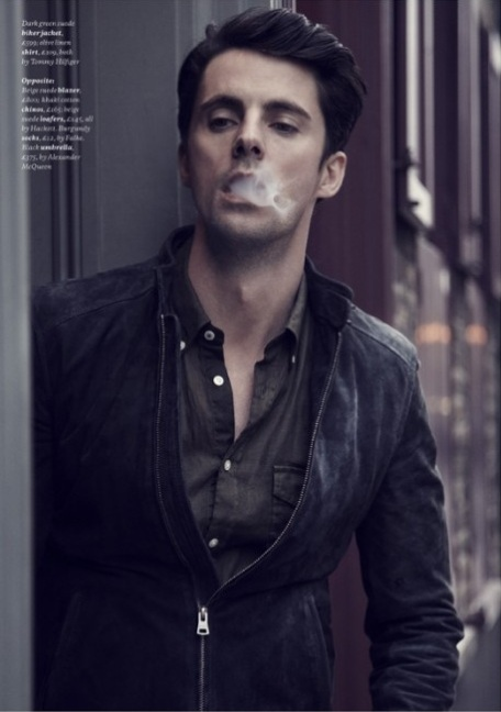Matthew Goode by Tomas Falmer for Esquire Magazine
