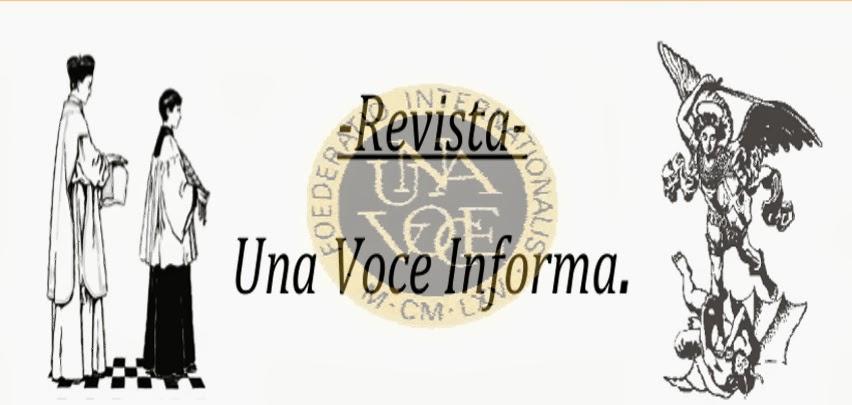 Una Voce Informa