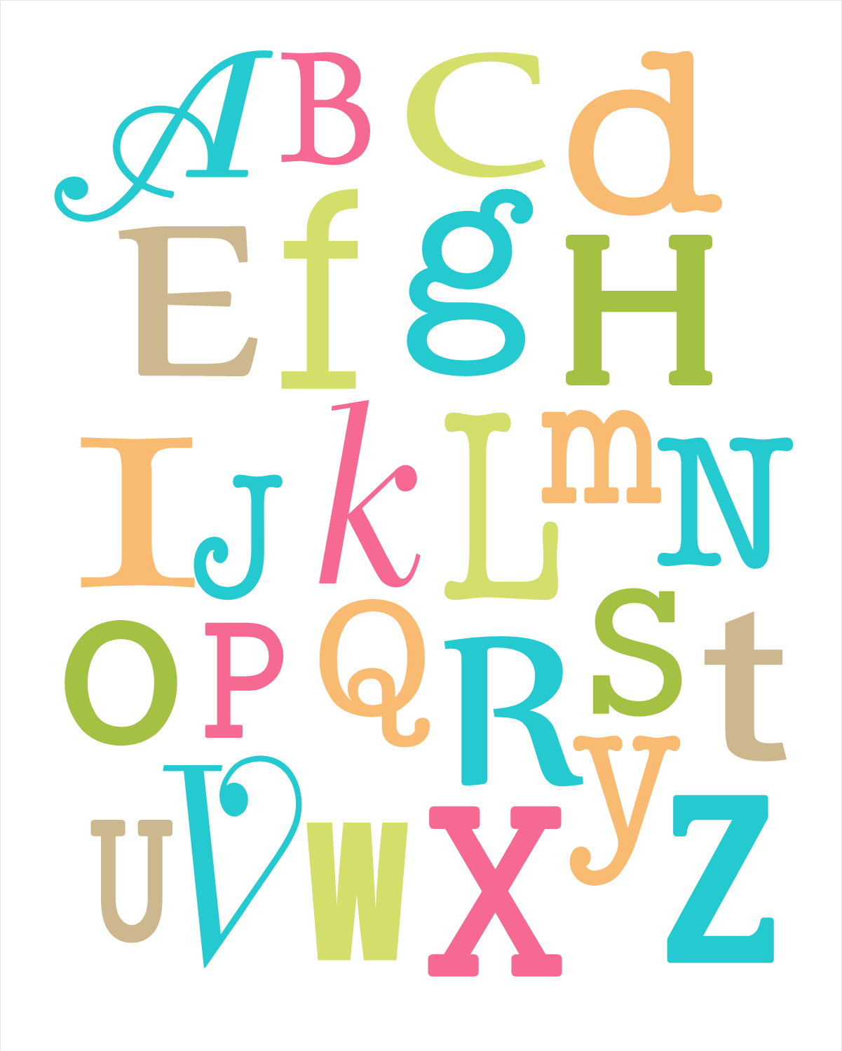 ... boutique alphabet nursery wall hanging print giveaway skyrim alphabet