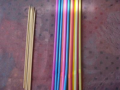 Палочки для цветов фото своими руками 85