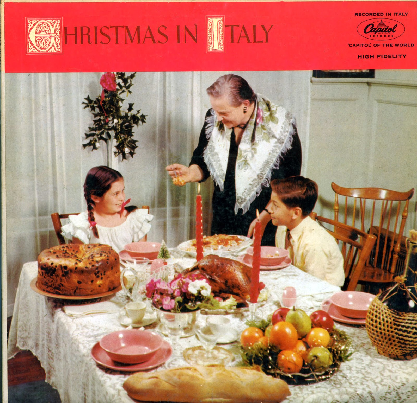 christmas in italy capitol records catalog t10093 - Christmas Food Catalogs