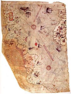 1513 piri reis map mystery