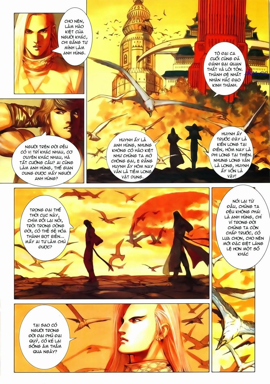 Thuyết Anh Hùng Thùy Thị Anh Hùng chap 16 Trang 21 - Mangak.info