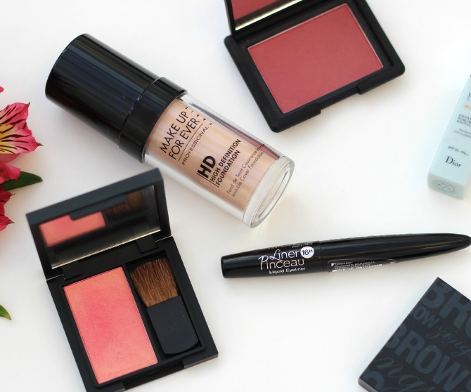 October favourites showing blushers
