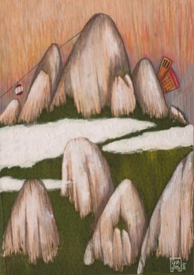 La muntanya de Montserrat vist per © Imma Mestre Cunillera