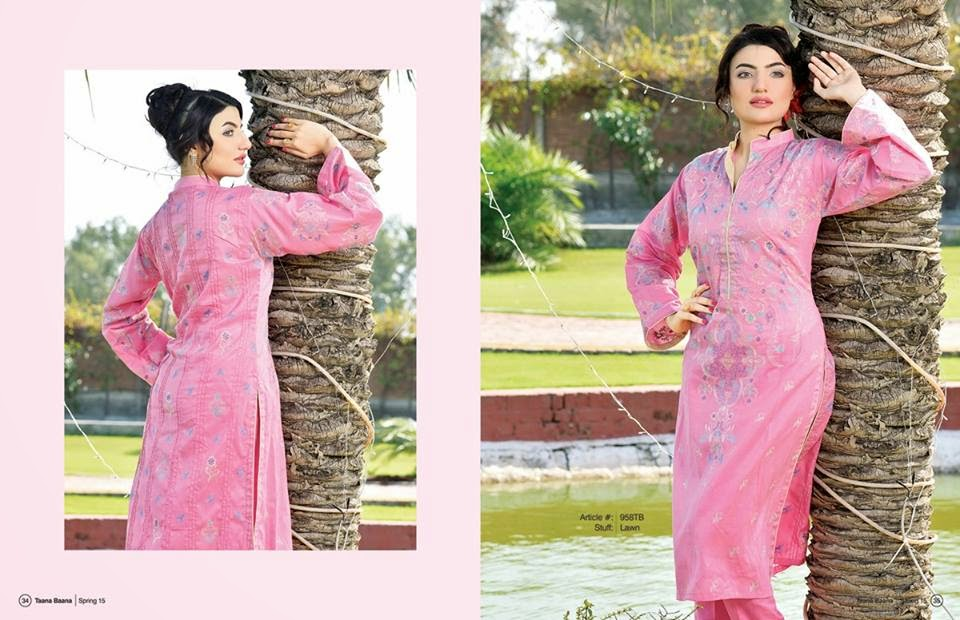 Taana Baana summer lawn fashion collection