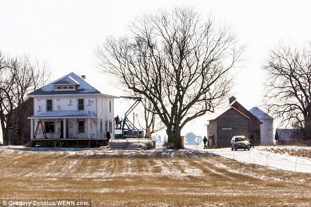 Kent Farm House in Man of Steel | Farms | Pinterest | Man of Steel ...