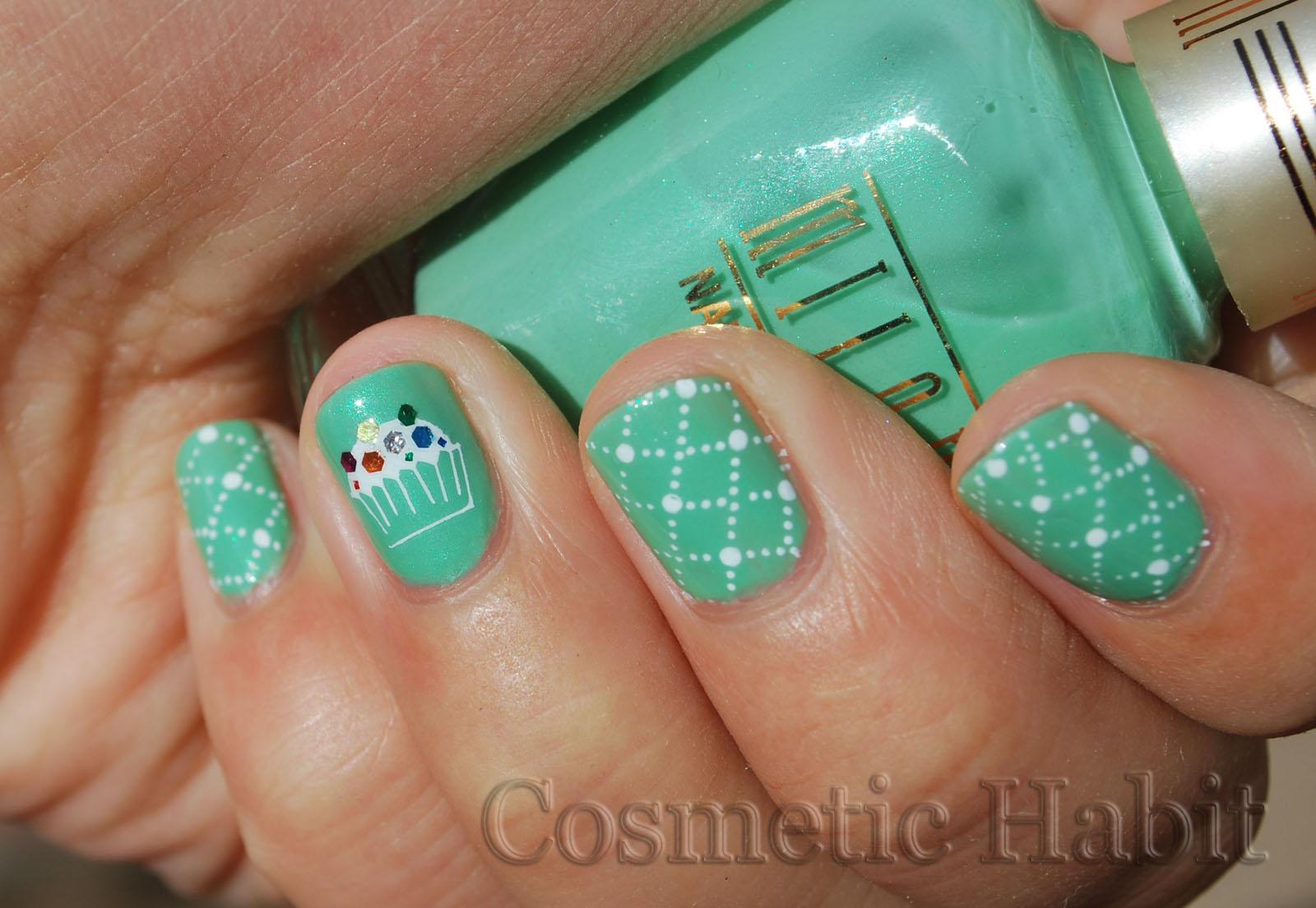 cupcake nail art idea-23