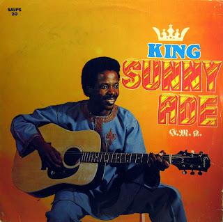 King Sunny Ad? & his African Beats -Ori Mi Ja Fun Mi, Sunny AladeRecords Ltd. SALPS 20, 1980