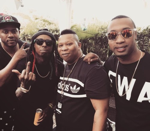 fotos de lil wayne mannie fresh cortez bryant mack maine en red bull guest house