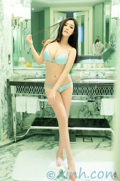 Ảnh gái đẹp HD nghệ thuật sexy của Yu Giai Ni 12