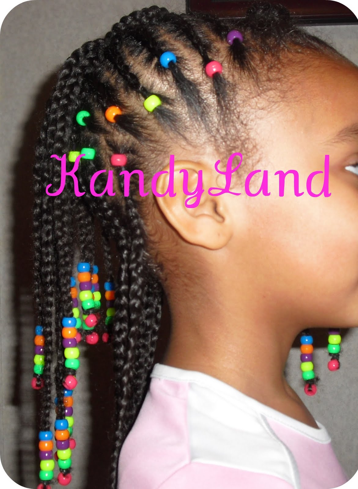 Kandyland Rainbow Braid Hawk Bead Style