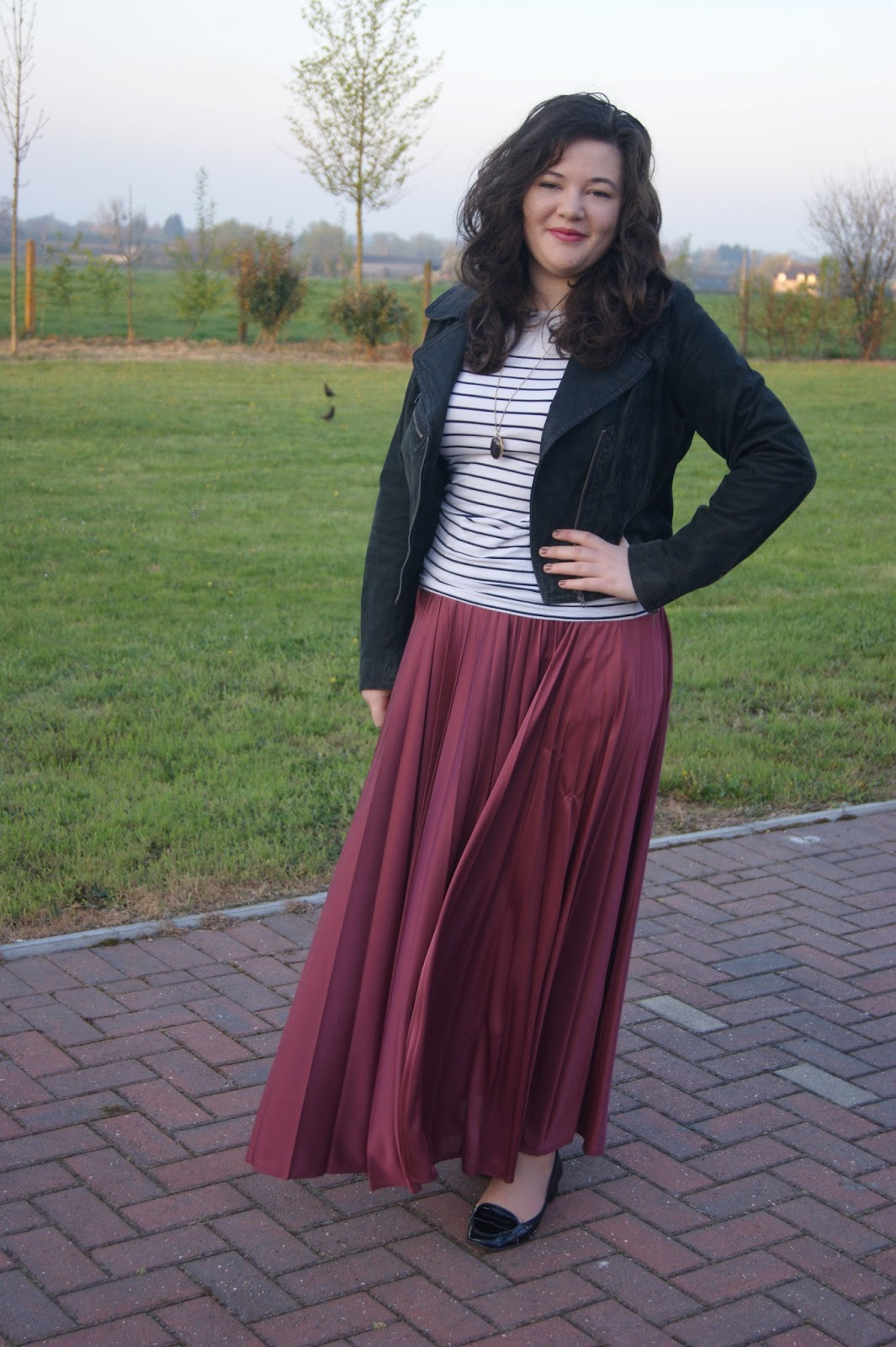styling a maxi skirt for work frills n spills
