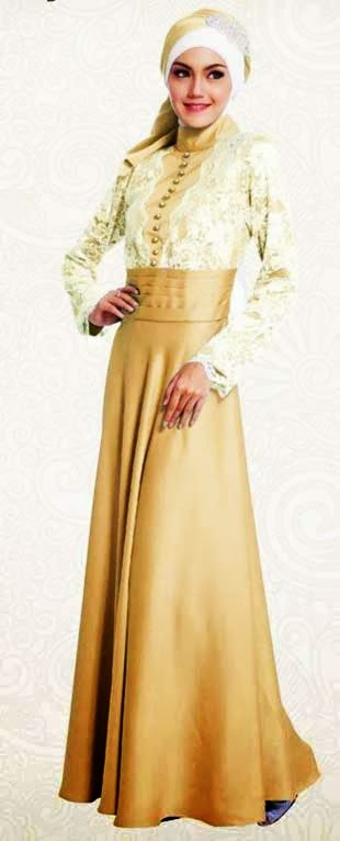 Contoh Baju Gamis Pesta Modernour Reading World