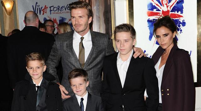 Greget! Harta dan Kekayaan Keluarga Beckham Lebih Tinggi, Kalah Ratu Elizabeth II