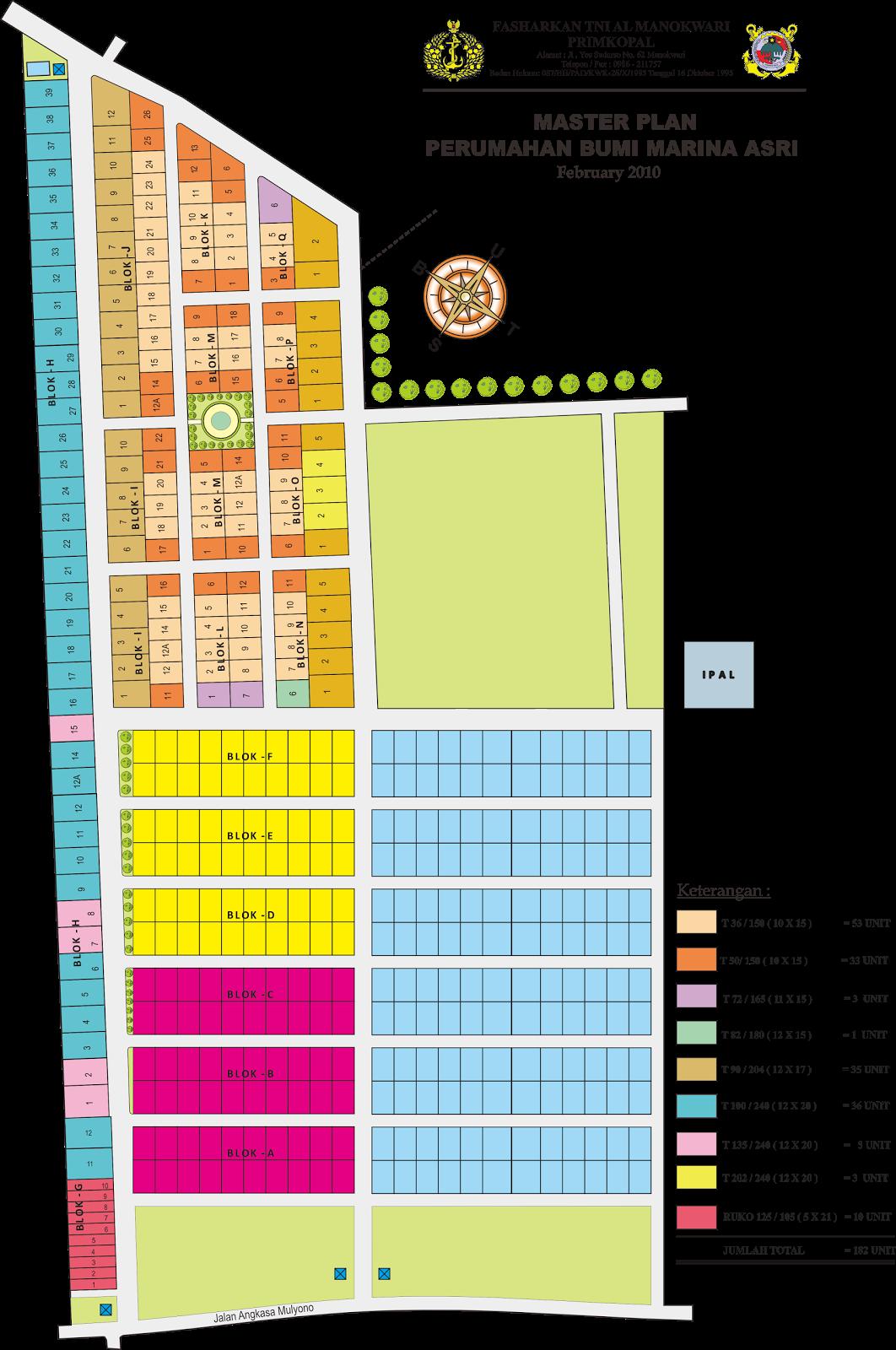 master plan bumi marina asri