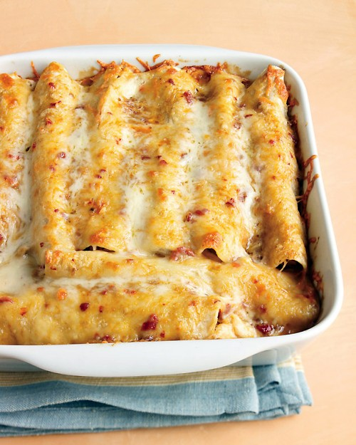 Lighter Chicken Enchiladas | Cook'n is Fun - Food Recipes, Dessert ...