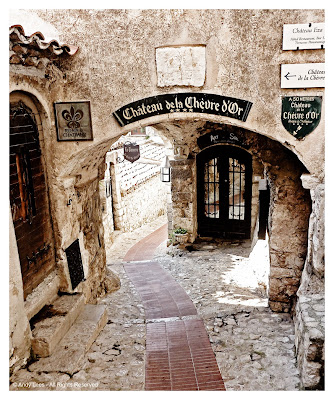 eze village cote' azur south of france