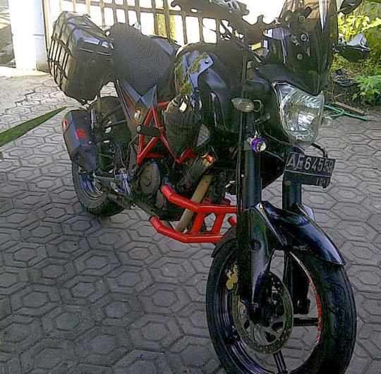 Modifikasi Yamaha Byson / FZ1 Jadi Moge 600 cc