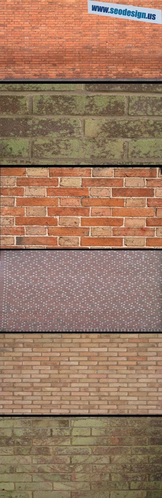 32 Free Brick Wall Background Textures Pack