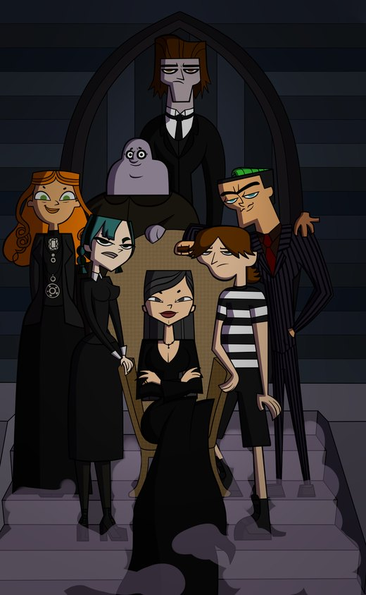 The TDI Addams Family por DisneyWiz