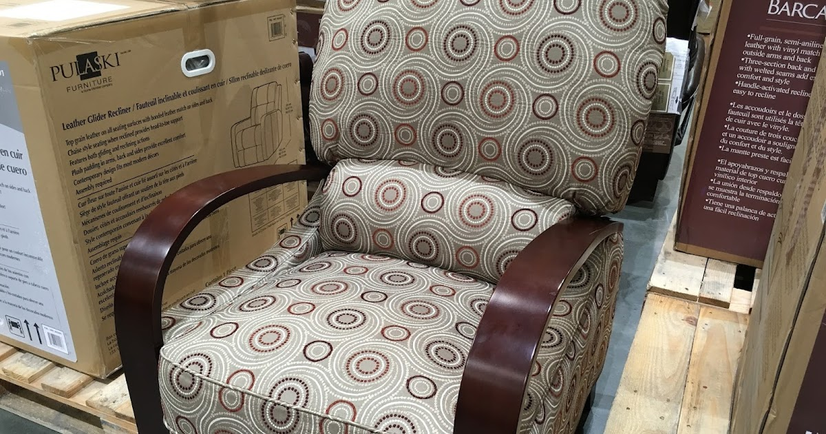 synergy home furnishings wood arm recliner chair costco weekender. Black Bedroom Furniture Sets. Home Design Ideas