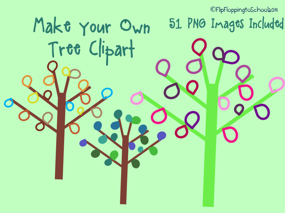 http://www.teacherspayteachers.com/Product/Make-Your-Own-Tree-Clipart-for-Personal-and-Commercial-Use-1275058