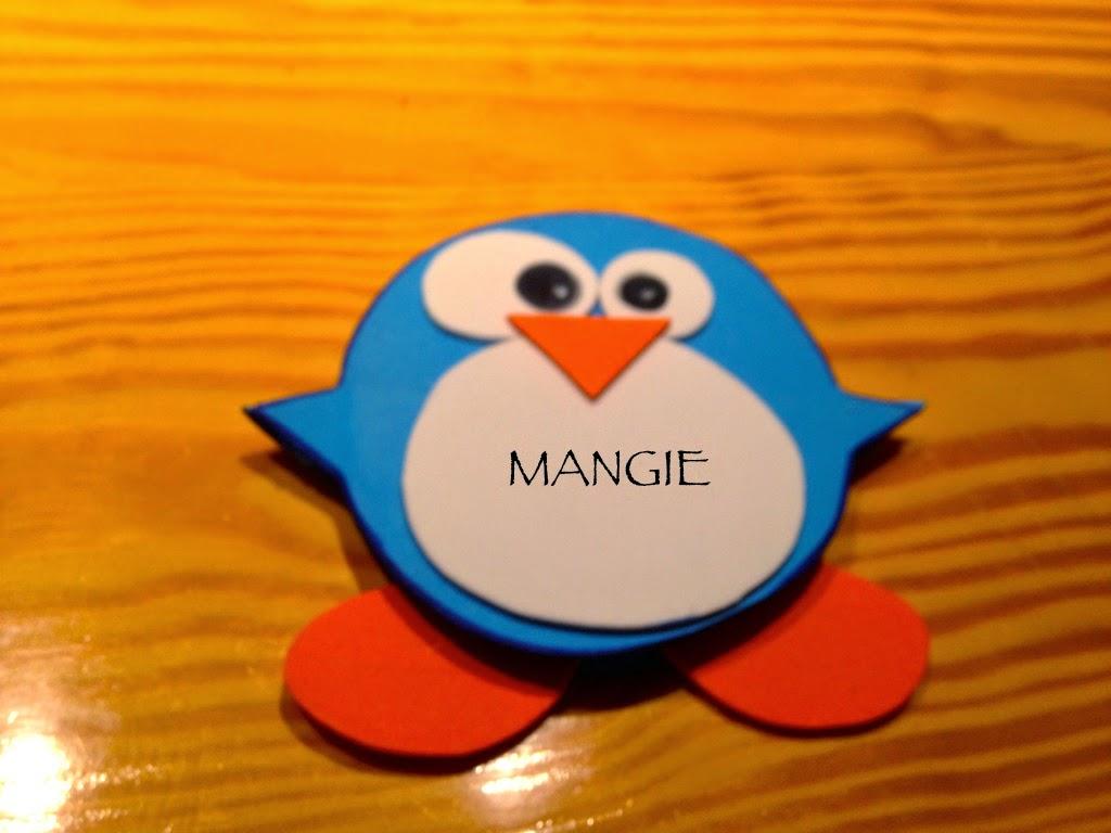 Porta-posit pingüino