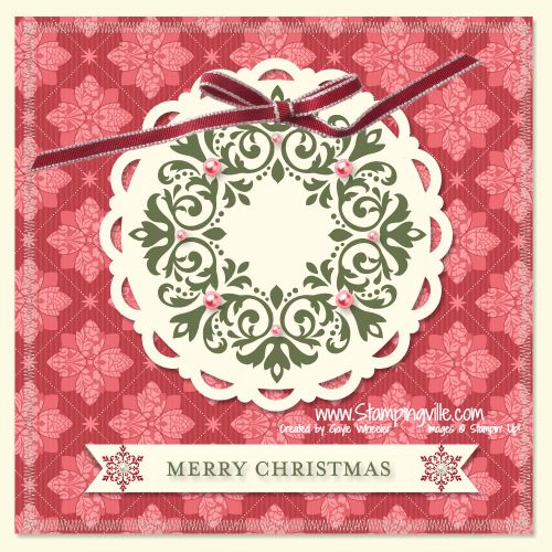 Stampin' Up! Joyful Times Digital Kit Card Idea